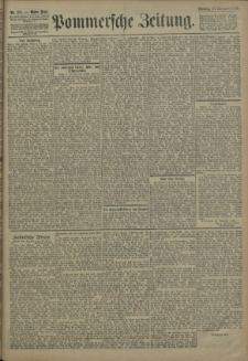 Pommersche Zeitung : organ für Politik und Provinzial-Interessen. 1906 Nr. 279