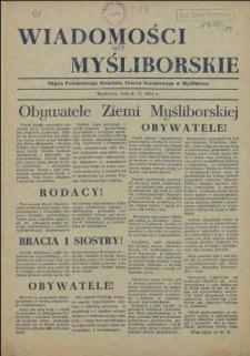Wiadomości Myśliborskie. 1954 z dnia 8 XI