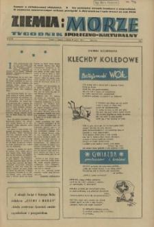 Ziemia i Morze : tygodnik społeczno-kulturalny. R.1, 1956 nr 31-32