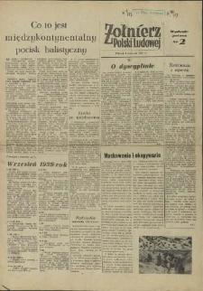 Żołnierz Polski Ludowej. 1957 nr 2