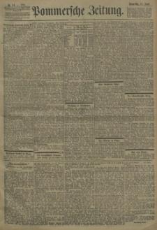 Pommersche Zeitung : organ für Politik und Provinzial-Interessen. 1901 Nr. 208
