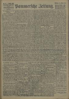 Pommersche Zeitung : organ für Politik und Provinzial-Interessen. 1907 Nr. 44