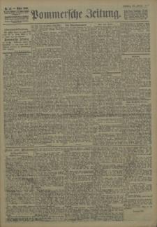 Pommersche Zeitung : organ für Politik und Provinzial-Interessen. 1907 Nr. 50