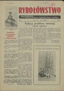 Rybołówstwo : dwutygodnik pracowników rybołówstwa spółdz. 1956 nr 4