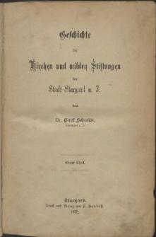 Geschichte der St. Jakobikirche in Stettin bis zur Reformation