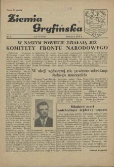 Ziemia Gryfińska. 1952 nr 2