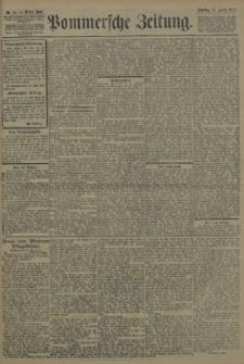 Pommersche Zeitung : organ für Politik und Provinzial-Interessen. 1907 Nr. 187 Blatt 1