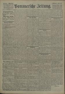 Pommersche Zeitung : organ für Politik und Provinzial-Interessen. 1907 Nr. 198