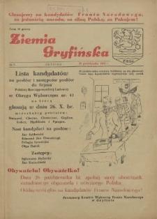 Ziemia Gryfińska. 1952 nr 5