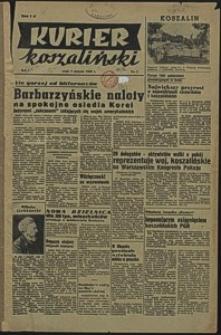 Kurier Koszaliński. 1950, sierpień, nr 1