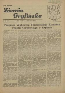 Ziemia Gryfińska. 1954 nr 10