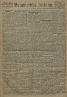 Pommersche Zeitung : organ für Politik und Provinzial-Interessen. 1902 Nr. 37