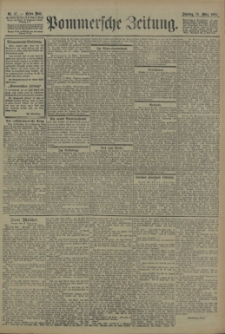 Pommersche Zeitung : organ für Politik und Provinzial-Interessen. 1905 Nr. 72