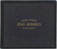 Atlas anatomicus : partium corporis humani per strata dispositarum imagines