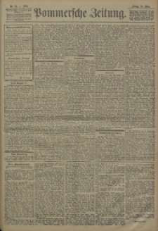 Pommersche Zeitung : organ für Politik und Provinzial-Interessen. 1902 Nr. 74