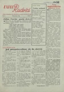 Express Radości : Pałac Młodzieży im. Wielkiej Rewolucji Październikowej. 1954 Luty nr 6