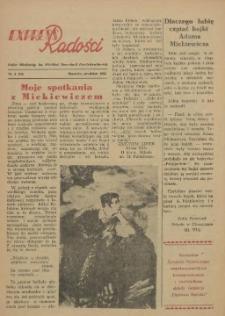 Express Radości : Pałac Młodzieży im. Wielkiej Rewolucji Październikowej. 1955 nr 4