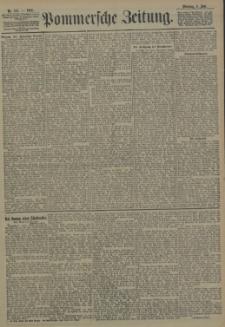 Pommersche Zeitung : organ für Politik und Provinzial-Interessen. 1905 Nr. 136 Blatt 1