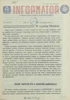 Informator : organ Samorządu Robotniczego. R.3/4, 1974 nr 16