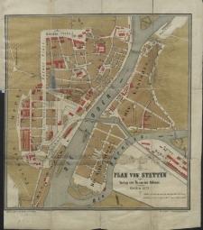 Plan von Stettin