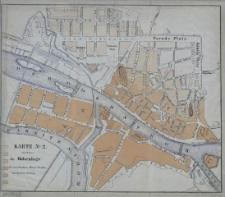 Karte Nº2 darstellend die Höhenlage der verschiedenen Häuser - Vierteln innerhalb der Festung