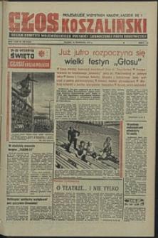 Głos Koszaliński. 1974, wrzesień, nr 263