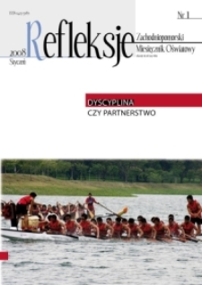 Refleksje : zachodniopomorski miesięcznik oświatowy. 2008 nr 1