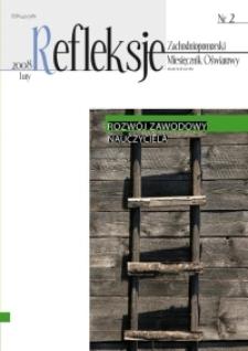Refleksje : zachodniopomorski miesięcznik oświatowy. 2008 nr 2