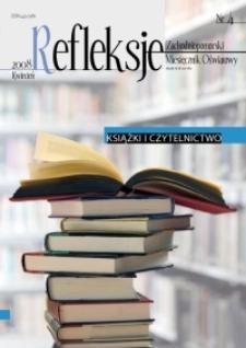 Refleksje : zachodniopomorski miesięcznik oświatowy. 2008 nr 4