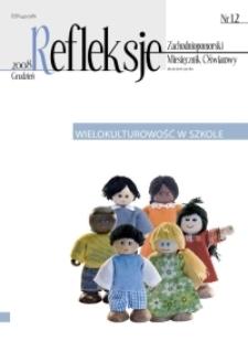 Refleksje : zachodniopomorski miesięcznik oświatowy. 2008 nr 12