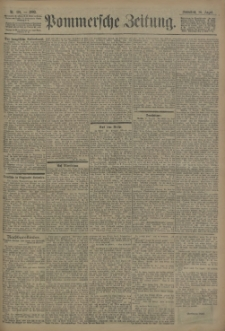 Pommersche Zeitung : organ für Politik und Provinzial-Interessen. 1902 Nr. 236