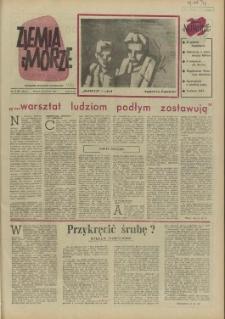 Ziemia i Morze : tygodnik społeczno-kulturalny. R.2, 1957 nr 14