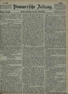 Pommersche Zeitung : organ für Politik und Provinzial-Interessen. 1865 Nr. 586