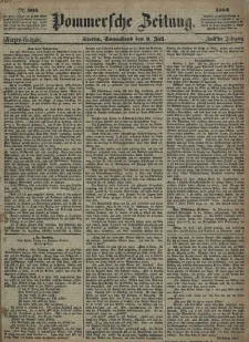 Pommersche Zeitung : organ für Politik und Provinzial-Interessen. 1864 Nr. 350