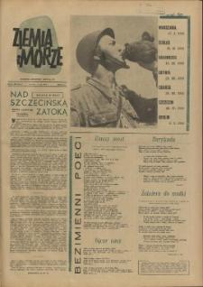 Ziemia i Morze : tygodnik społeczno-kulturalny. R.2,1957 nr 16