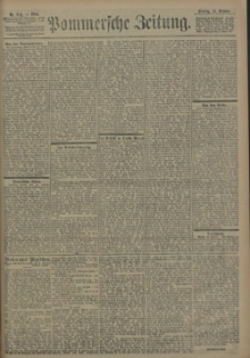 Pommersche Zeitung : organ für Politik und Provinzial-Interessen. 1902 Nr. 268