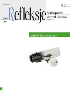 Refleksje : zachodniopomorski miesięcznik oświatowy. 2007 nr 2