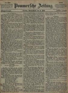 Pommersche Zeitung : organ für Politik und Provinzial-Interessen. 1864 Nr. 374