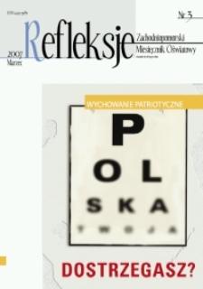 Refleksje : zachodniopomorski miesięcznik oświatowy. 2007 nr 3