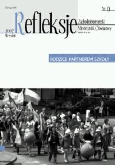 Refleksje : zachodniopomorski miesięcznik oświatowy. 2007 nr 9