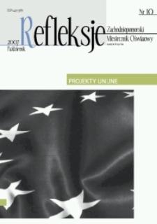 Refleksje : zachodniopomorski miesięcznik oświatowy. 2007 nr 10