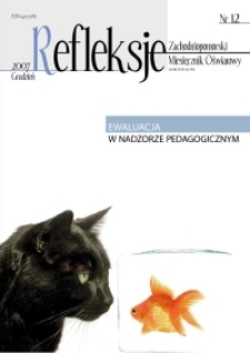 Refleksje : zachodniopomorski miesięcznik oświatowy. 2007 nr 12