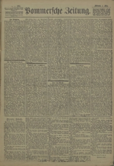 Pommersche Zeitung : organ für Politik und Provinzial-Interessen. 1903 Nr. 52