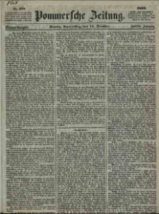Pommersche Zeitung : organ für Politik und Provinzial-Interessen. 1864 Nr. 571