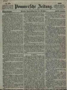 Pommersche Zeitung : organ für Politik und Provinzial-Interessen. 1864 Nr. 574