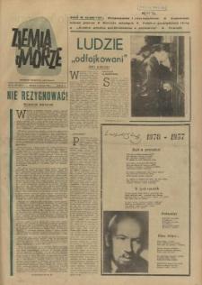 Ziemia i Morze : tygodnik społeczno-kulturalny. R.2, 1957 nr 20