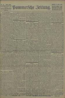 Pommersche Zeitung : organ für Politik und Provinzial-Interessen. 1903 Nr. 86 Blatt 1
