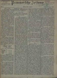 Pommersche Zeitung : organ für Politik und Provinzial-Interessen. 1875 Nr. 9
