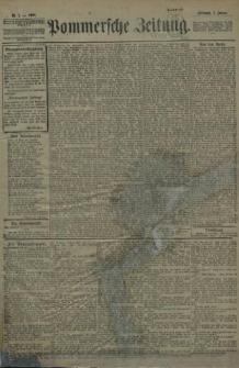 Pommersche Zeitung : organ für Politik und Provinzial-Interessen. 1908 Nr. 3