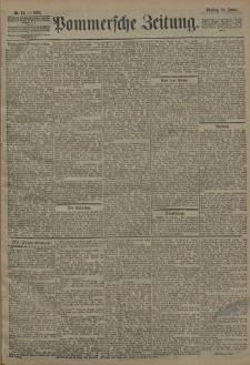 Pommersche Zeitung : organ für Politik und Provinzial-Interessen. 1908 Nr. 13